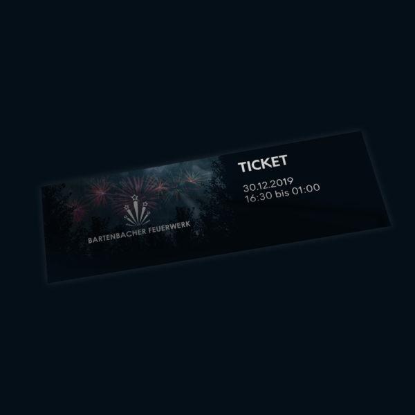 Bartenbacher Feuerwerk 2019 Ticket